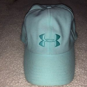 Under Armour women's baseball hat- baby blue
